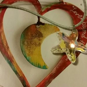 Jewelry - Crystal star necklace